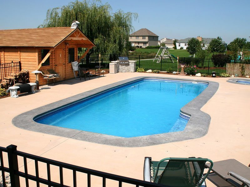 Custom Inground Pool Designs stunning custom pool & spa installation harrisburg pa – mountaintop co