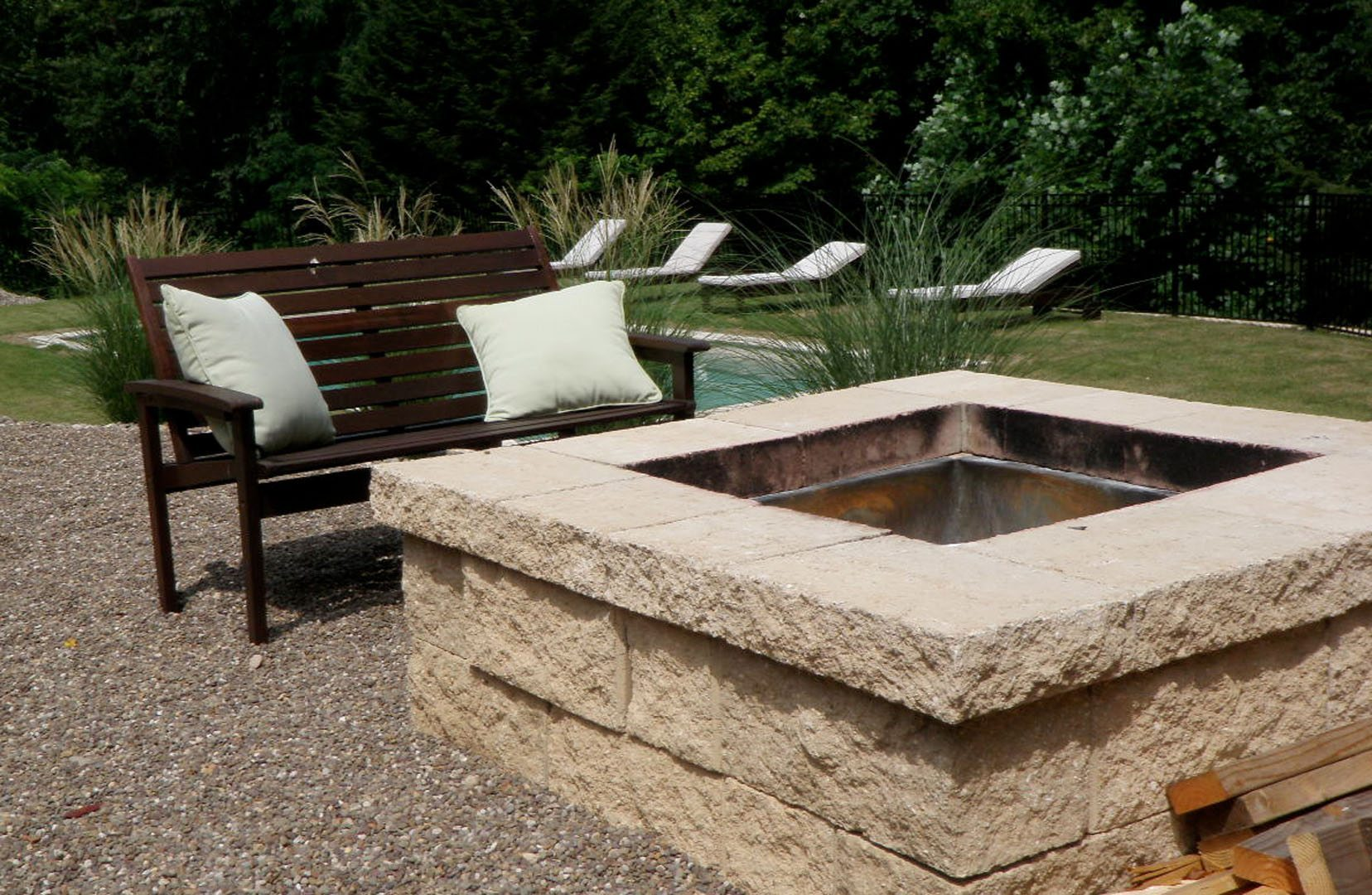 Custom Outdoor Firepit