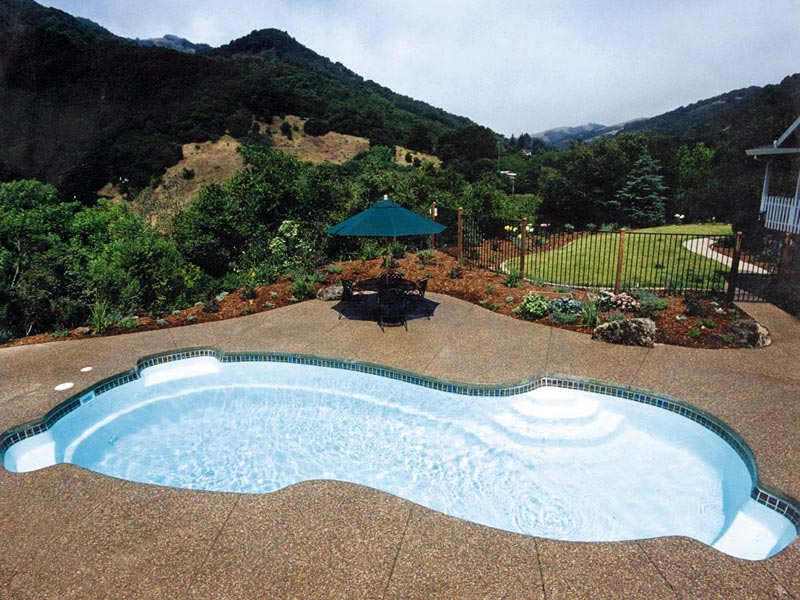 Custom Pool Color Inspiration Gallery Mountain Top Contracting Llc